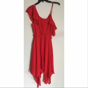 NWT GB Gianni Bini Wrap Ruffle Dress